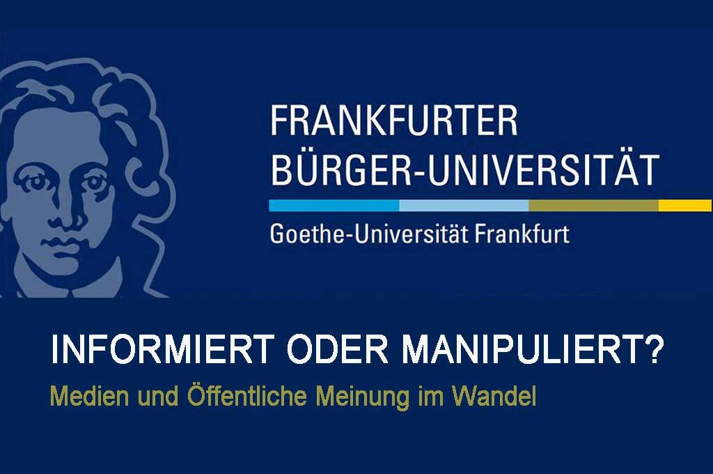 Bürger-Uni 2018: Informiert oder manipuliert?