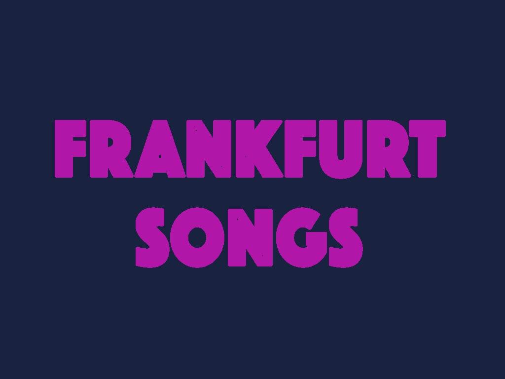 Liste mit Songs über Frankfurt am Main