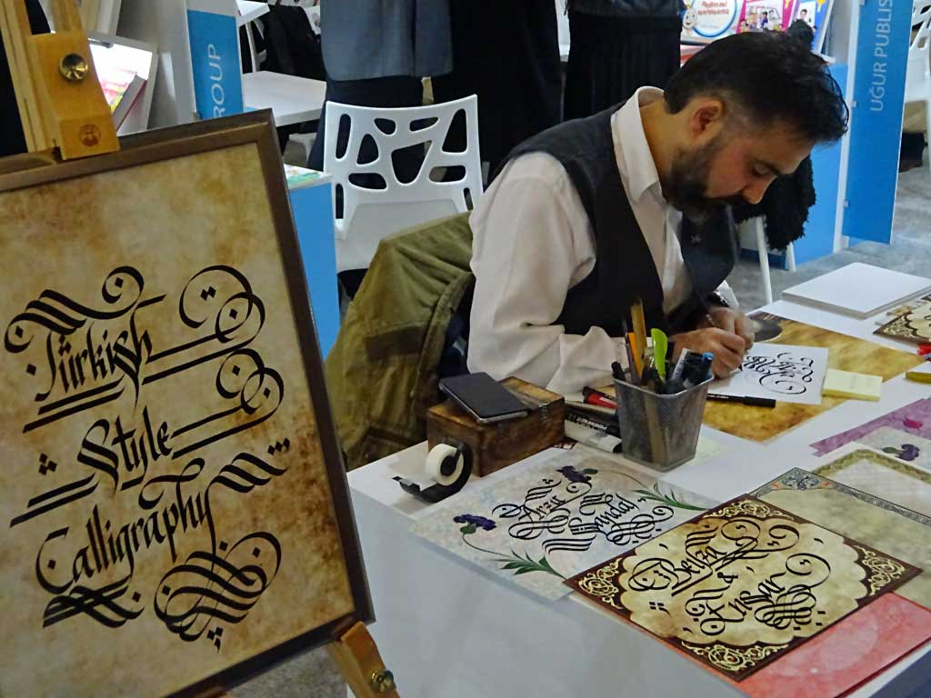 Turkish Style Calligraphy auf der Frankfurter Buchmesse.