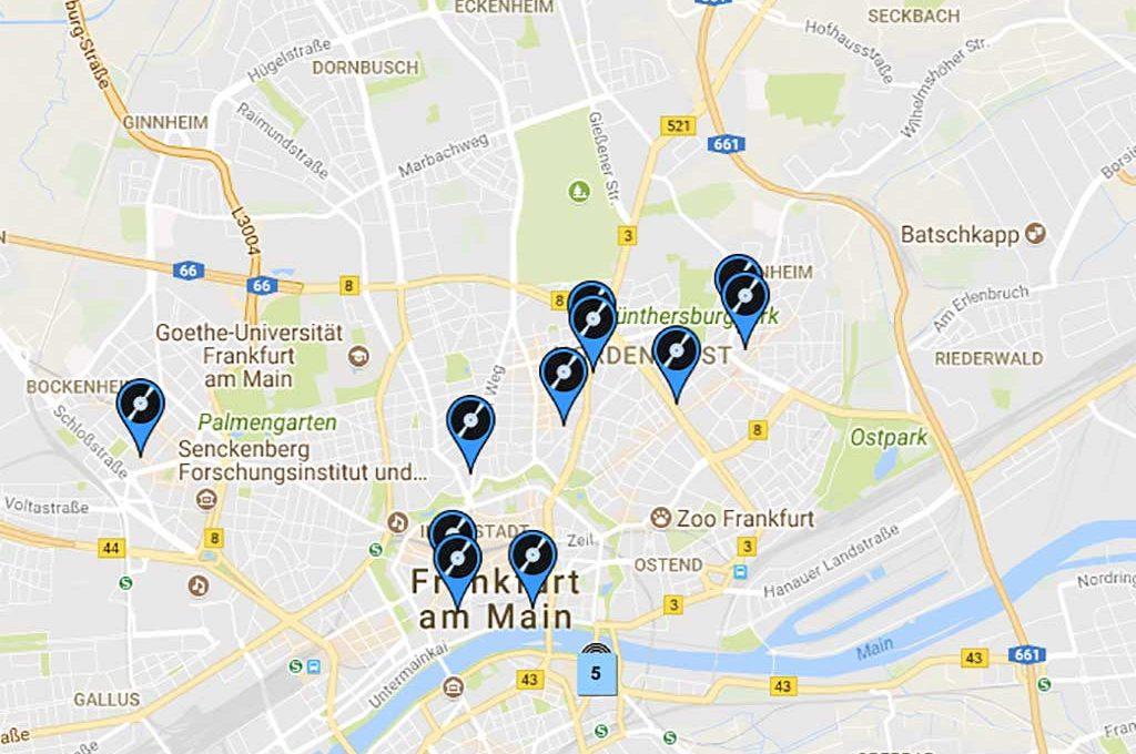 Alle Plattenläden in Frankfurt am Main