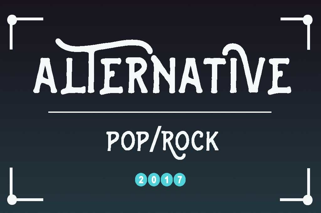 Alternative Pop/Rock - Meine Top 10 für 2017