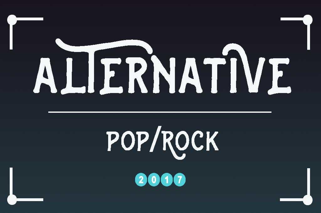 Alternative Pop/Rock - Meine Top 10 für 2017