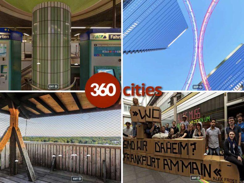 Frankfurt-Aufnahmen bei 360cities