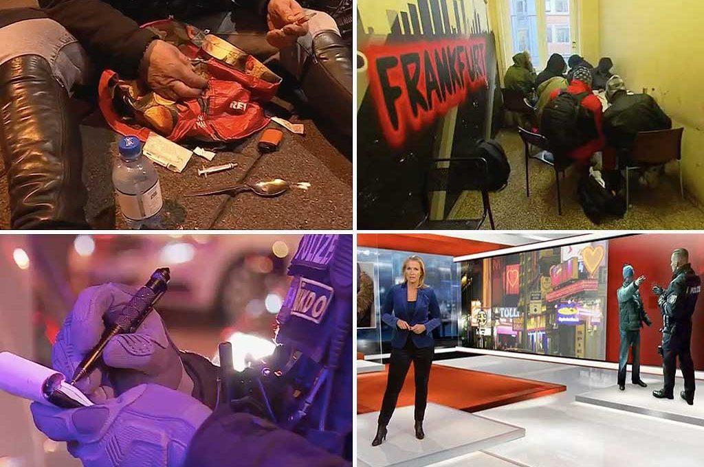 Leben im drogen hotspot das frankfurter bahnhofsviertel for Youtube spiegel tv