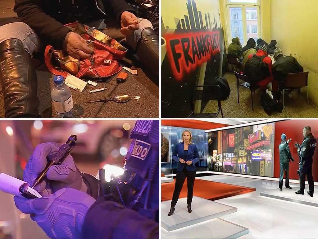 Leben im drogen hotspot das frankfurter bahnhofsviertel for Spiegel tv reportage