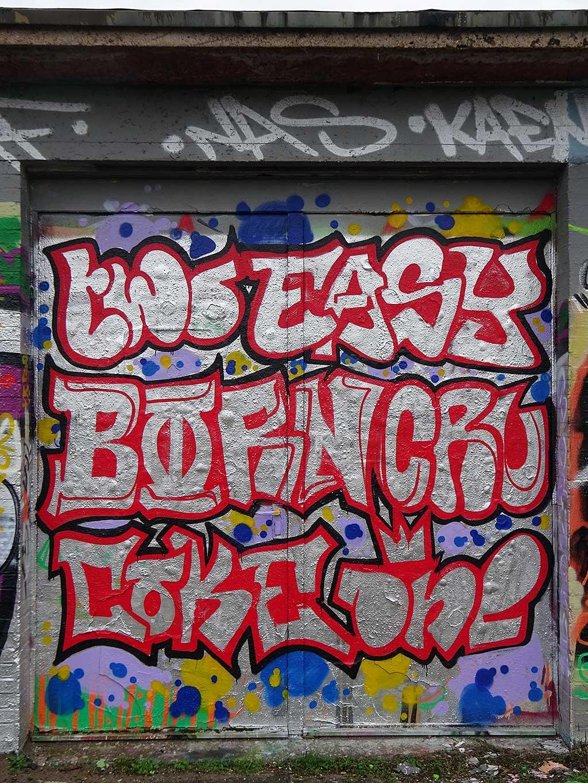Two Easy Born Cru Coke One – Graffiti in Bad Vilbel an der Freifläche am Freibad