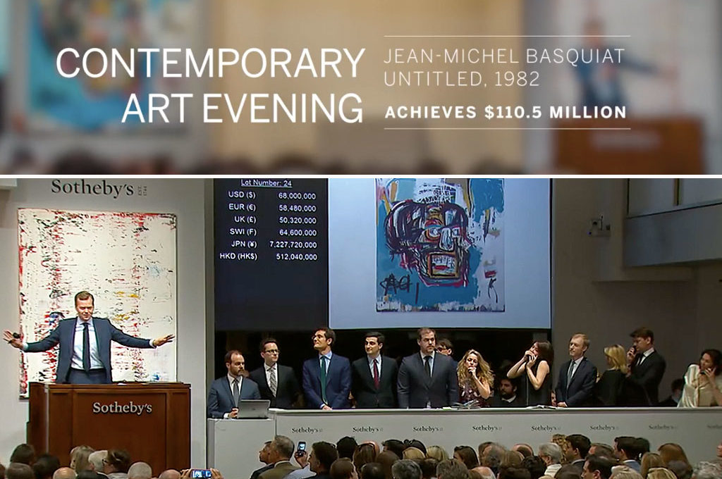 Basquiat at Sotheby's