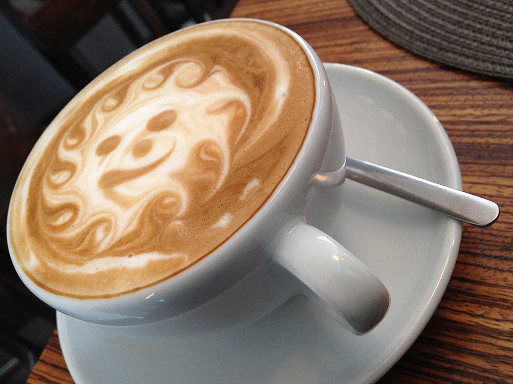 Caffé Leidenschaft in der Berger Straße