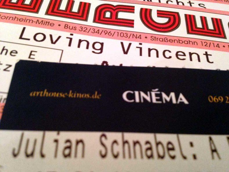 Loving Vincent und Julian Schnabel - A Private Portrait im Kino