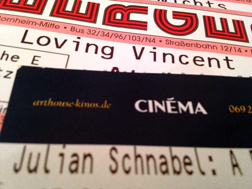 Loving Vincent und Julian Schnabel - A Private Portrait im Kino