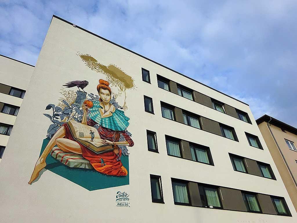 Graffiti in der Adalbertstraße