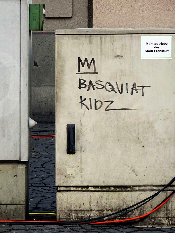 Street Art in Frankfurt: BASQUIAT KIDZ