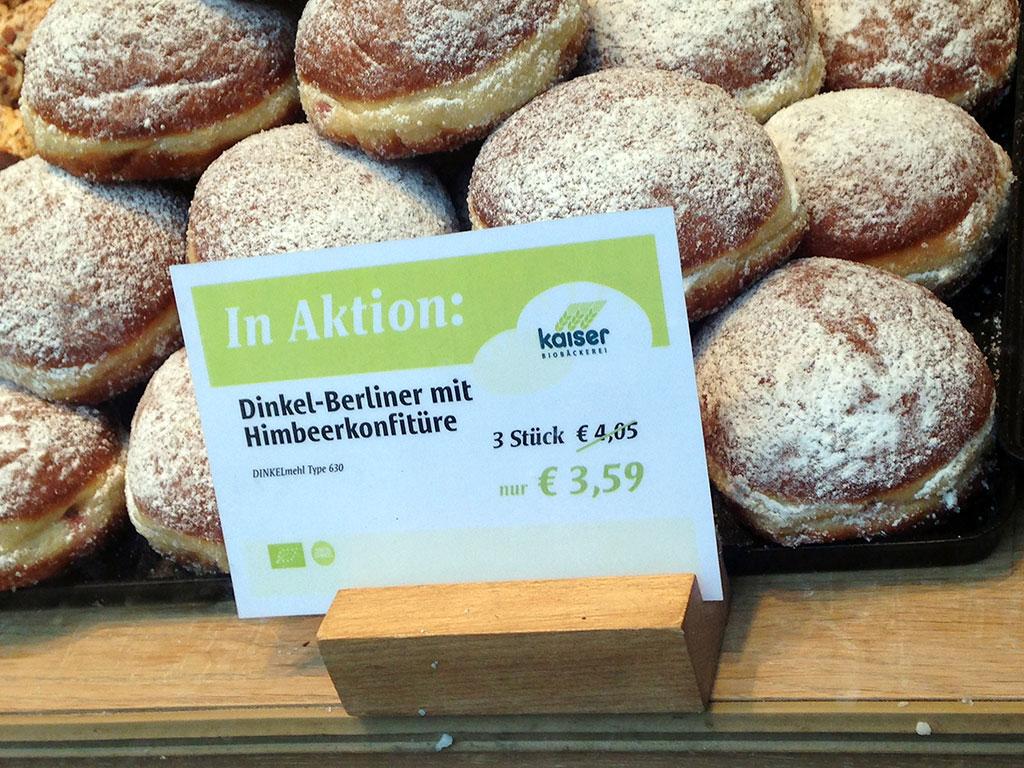 Dinkel-Berliner in Frankfurt