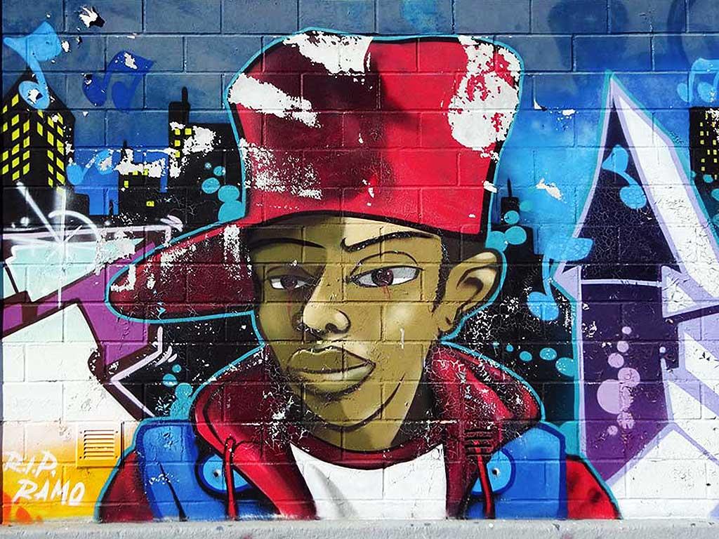 Graffiti-Character in Hattersheim