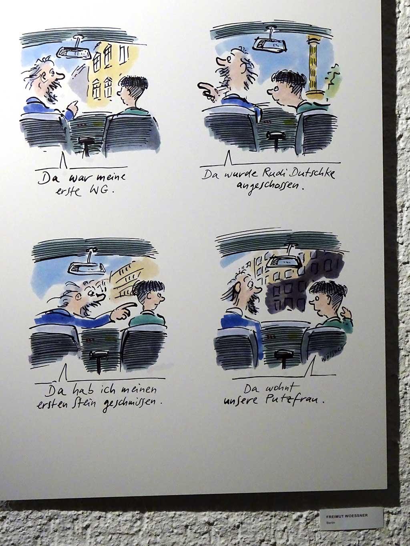 68 wird 50! Cartoons und Karikaturen in der Paulskirche