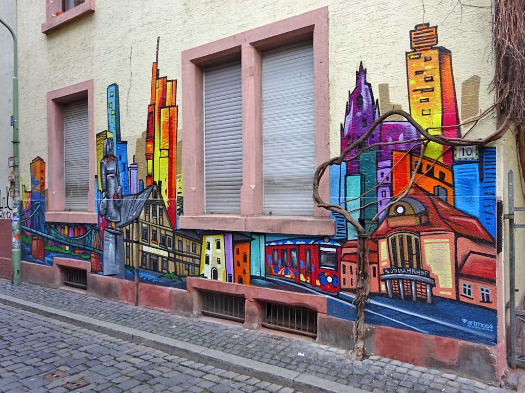 artmos4-Graffiti in Sachsenhausen