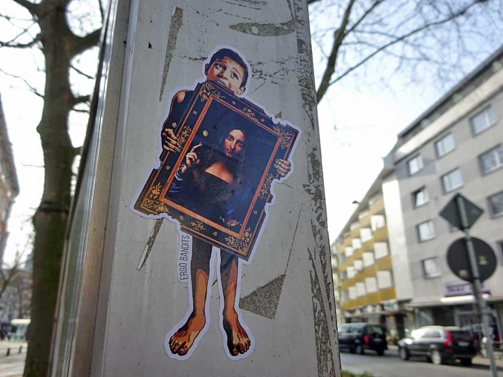 Stickerart in Frankfurt: Ergo Bandits