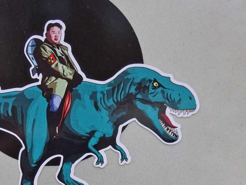 Sticker Art der Ergo Bandits in Frankfurt