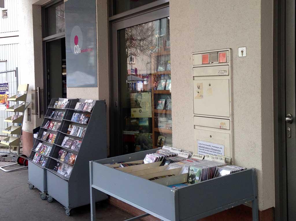 Platten- und CD-Geschäft in Frankfurt: CDs am Goethehaus