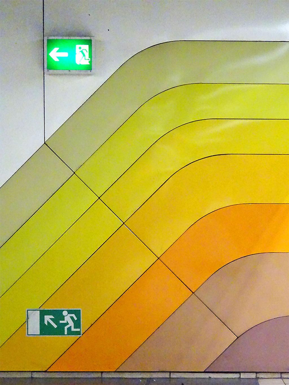 Farbkonzept in der Hauptwache C-Ebene.