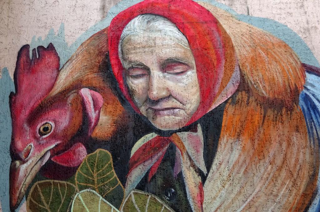 Mural von Sare in Offenbach