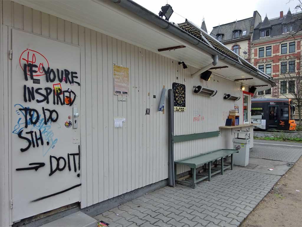 Street Art in Frankfurt am Main von Issy