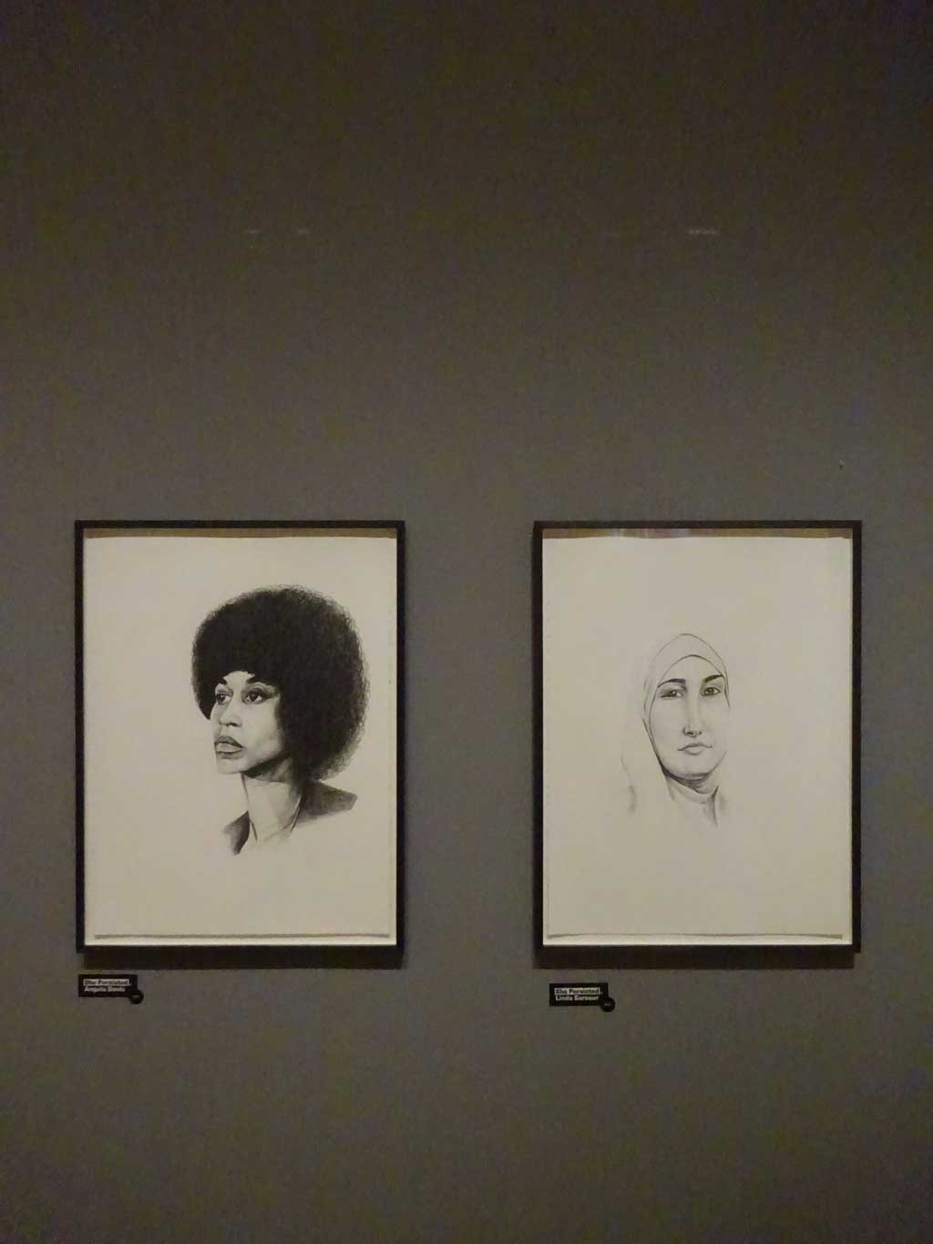 Schirn: Kate Holten - She Persisted, Angela Davis