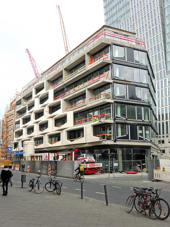 Bauprojekt The Flare of Frankfurt