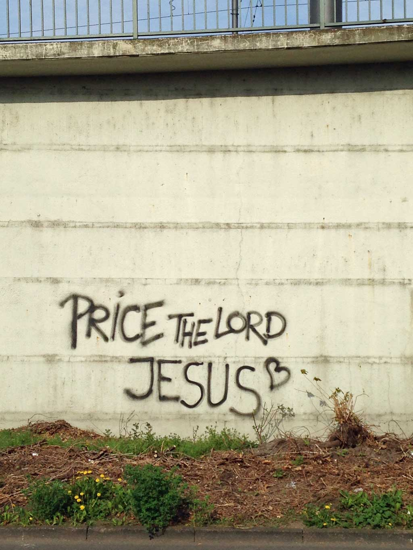 Price the Lord Jesus