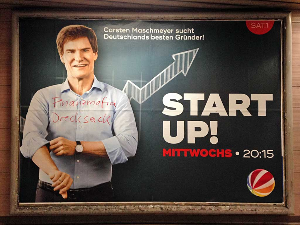 SAT1- START UP! mit Cartsen Maschmeyer