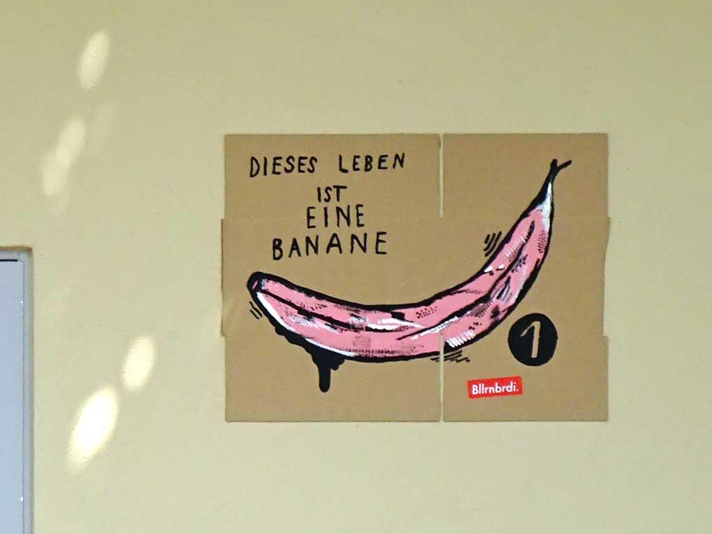 Dieses Leben ist eine Banane