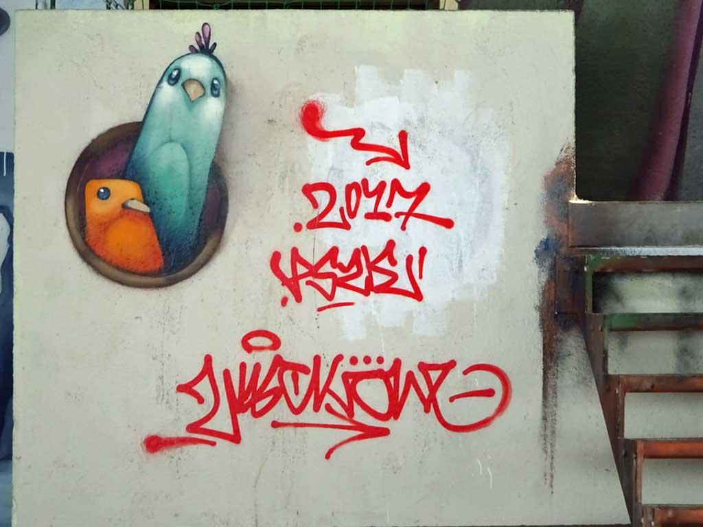 Street Art beim Jugenhaus Am Bügel