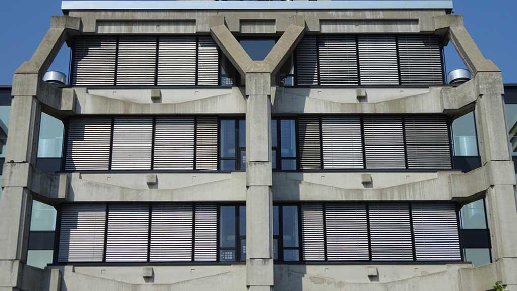 Brutalismus in Frankfurt: DB-Vertrieb-Zentrale