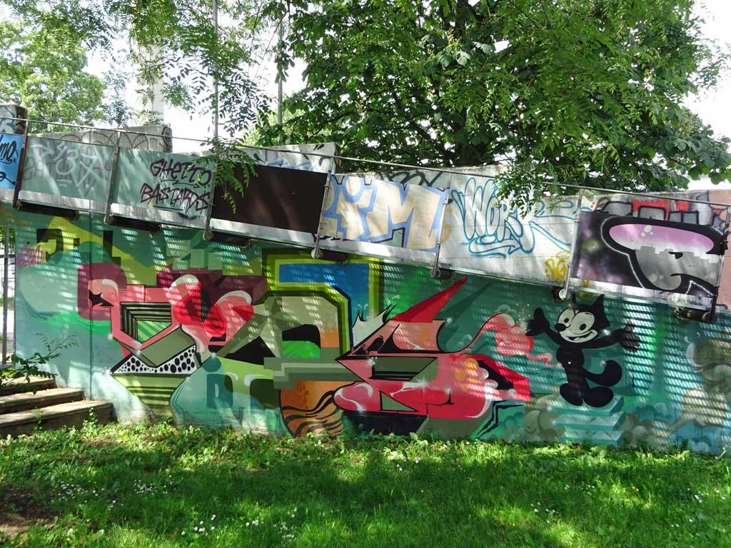 Streetart in Frankfurt