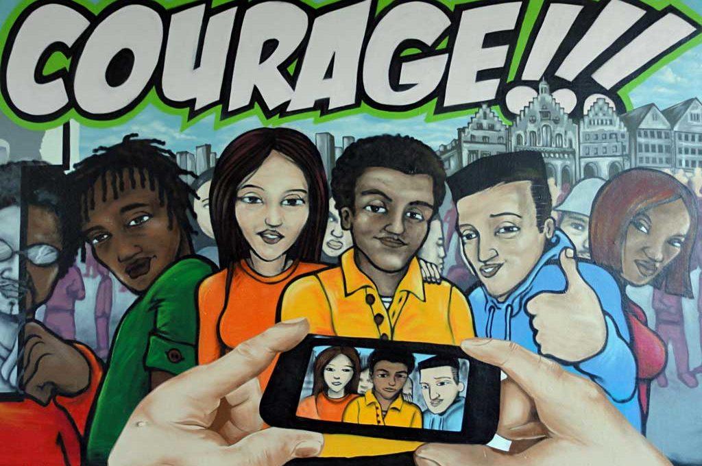 Frankfurt zeigt Courage