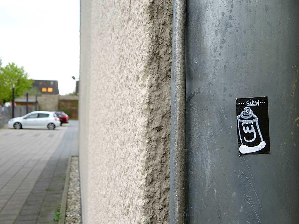 "Friendschiff-Aufkleber ""City"""
