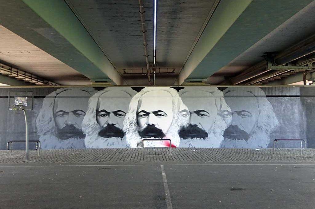 Graffiti in Frankfurt: Karl-Marx-Mural