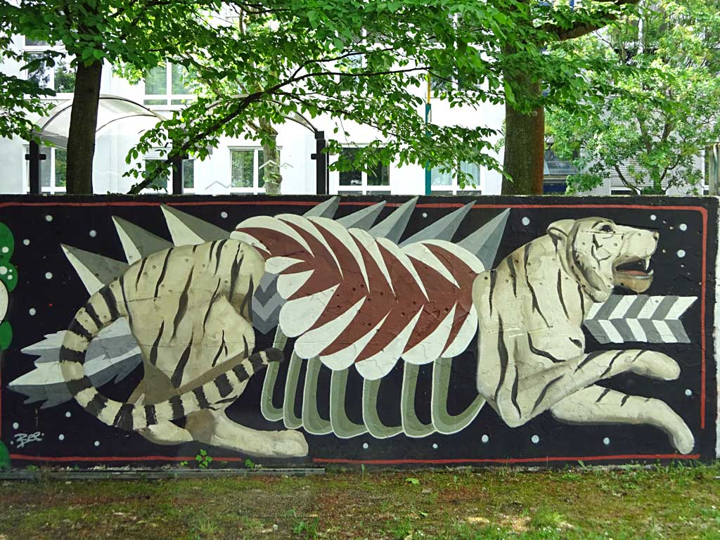 Streetart von Sare in Frankfurt