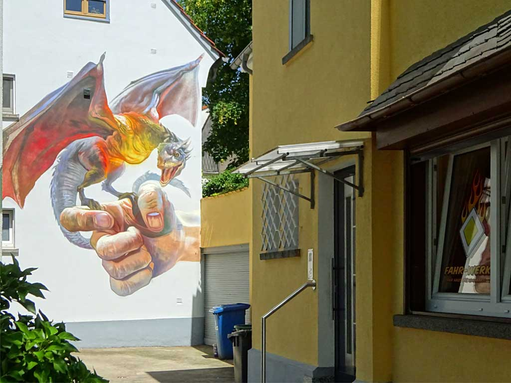 Streetart in Bad Vilbel - Game of Thrones