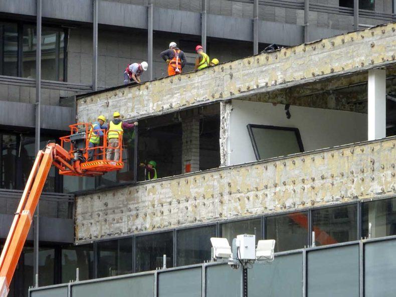 Beginn der Bauarbeiten am IBCF-Hochhaus