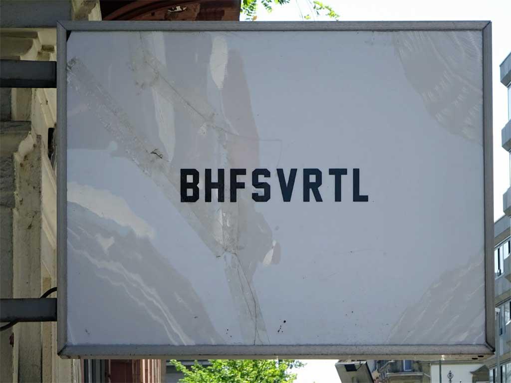 BHFSVRTL in Frankfurt