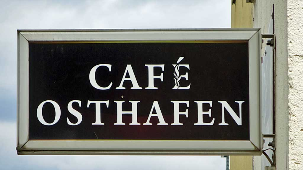 CAFE OSTHAFEN in Frankfurt