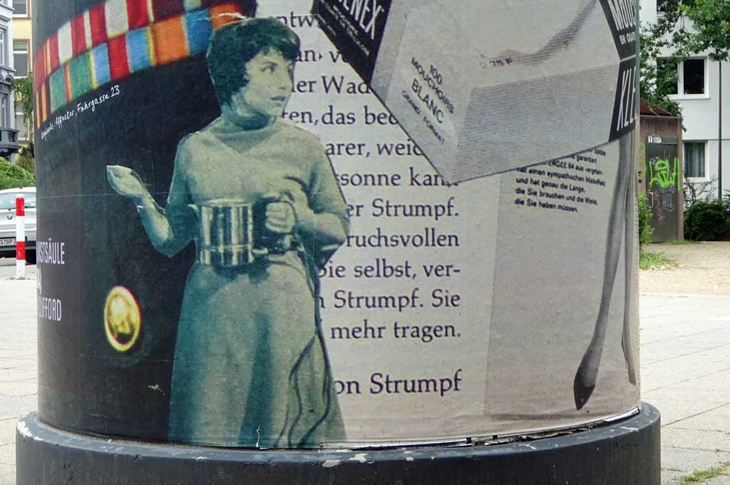 Frankfurter KunstSäule - Julia Andrews-Clifford