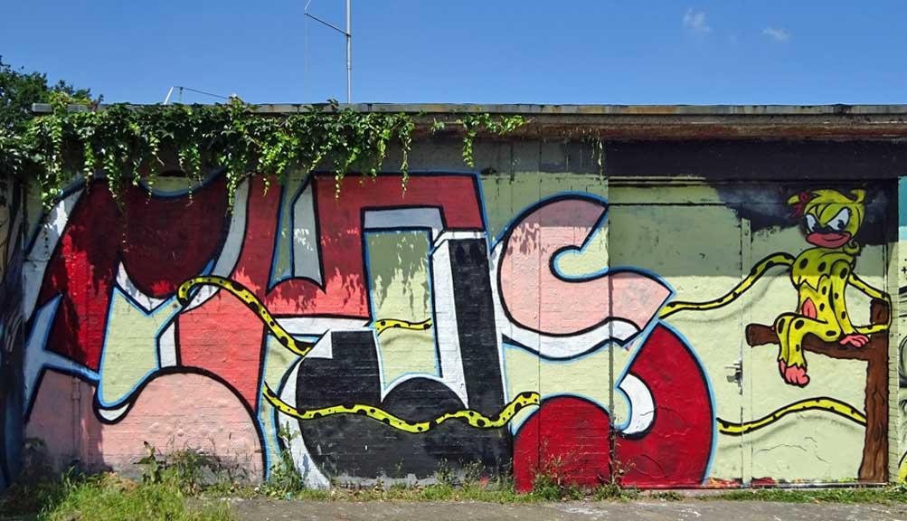 Marsupilami-Graffiti