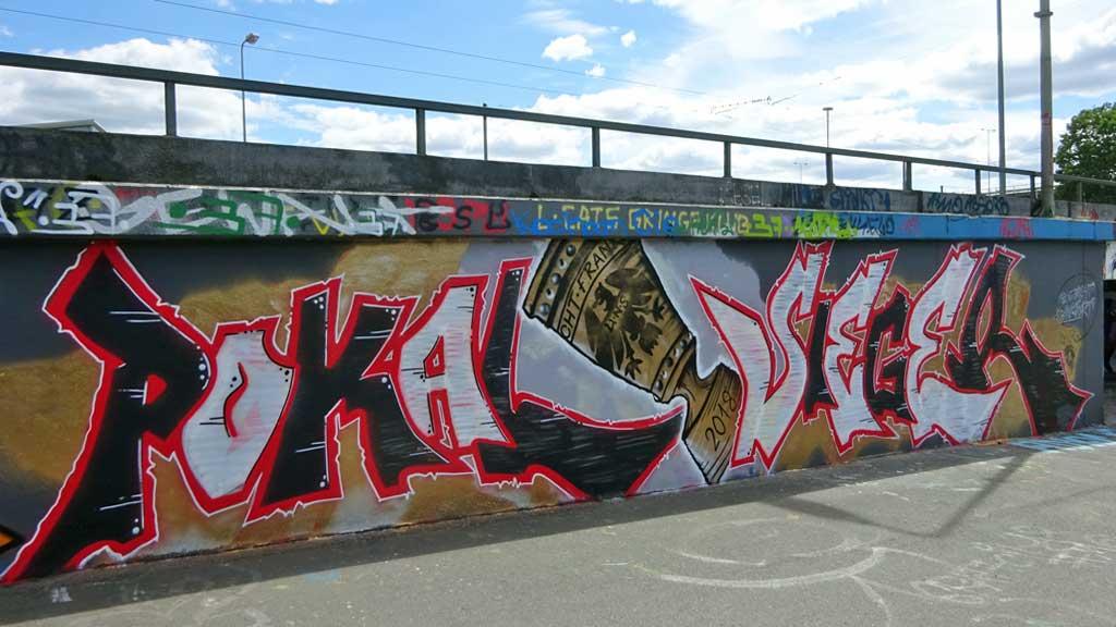 Graffiti: Pokalsieger 2018