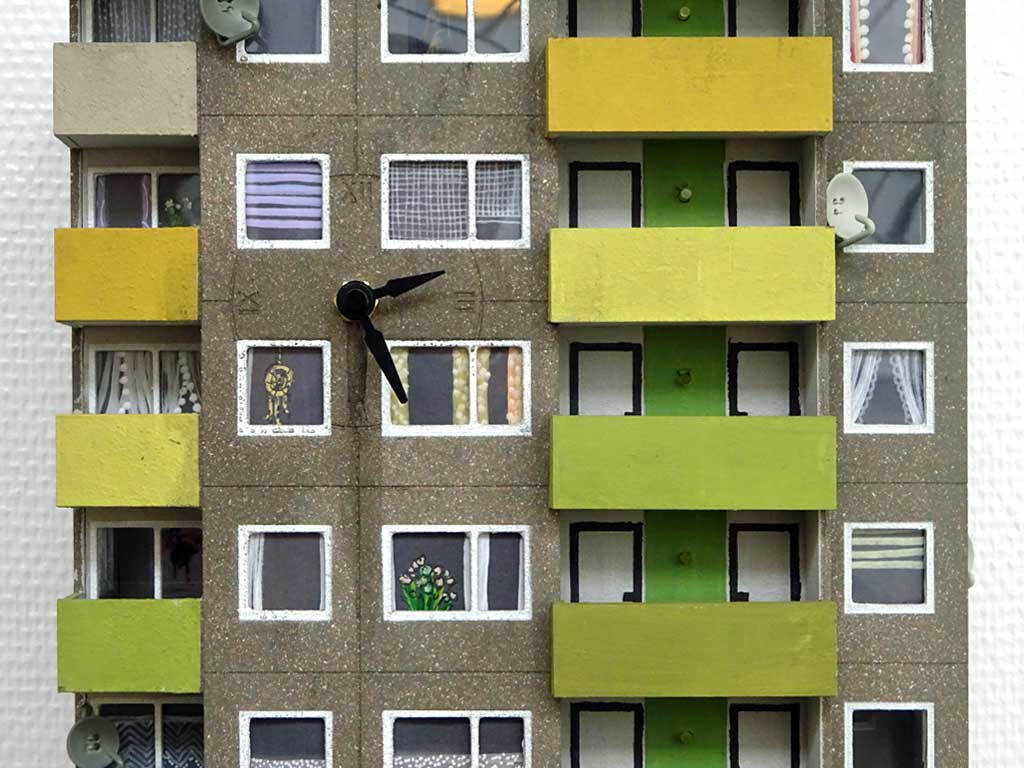 "Cuckoo Block ""Frankfurt"" Green Edition, 2017"