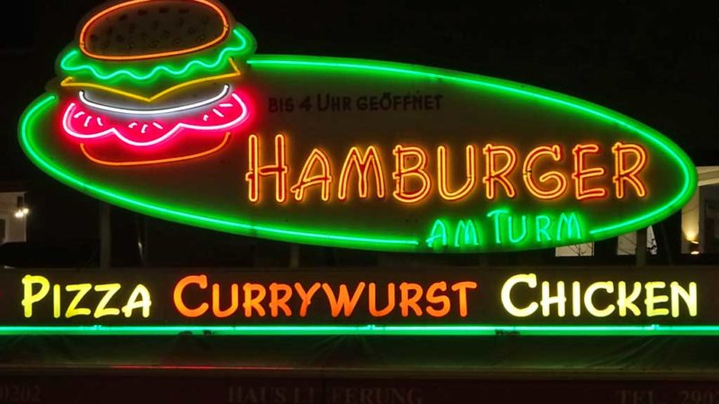 HAMBURGER AM TURM in Frankfurt