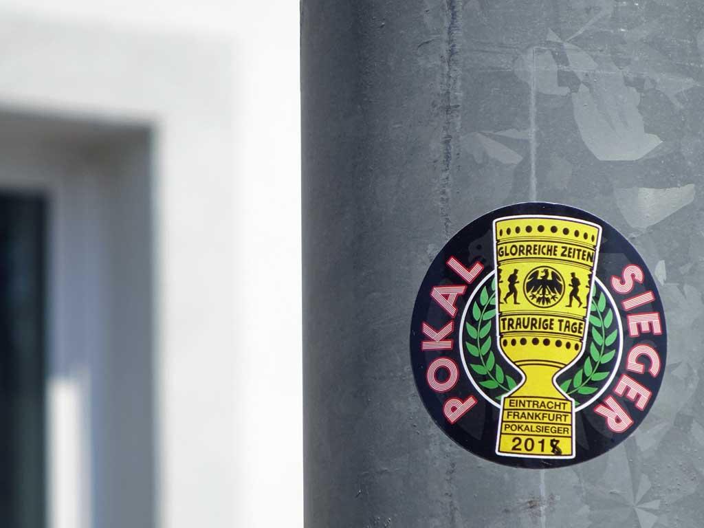 Eintracht Frankfurt Fan-Art - Pokalsieger 201...8