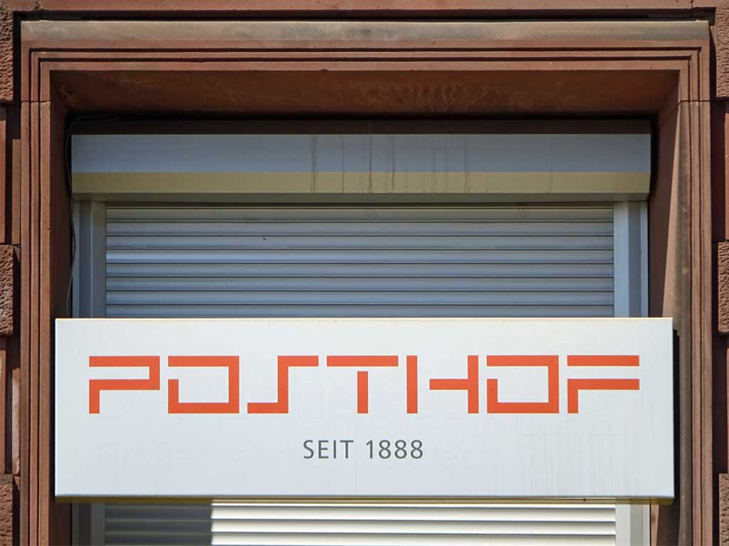 POSTHOF in Frankfurt