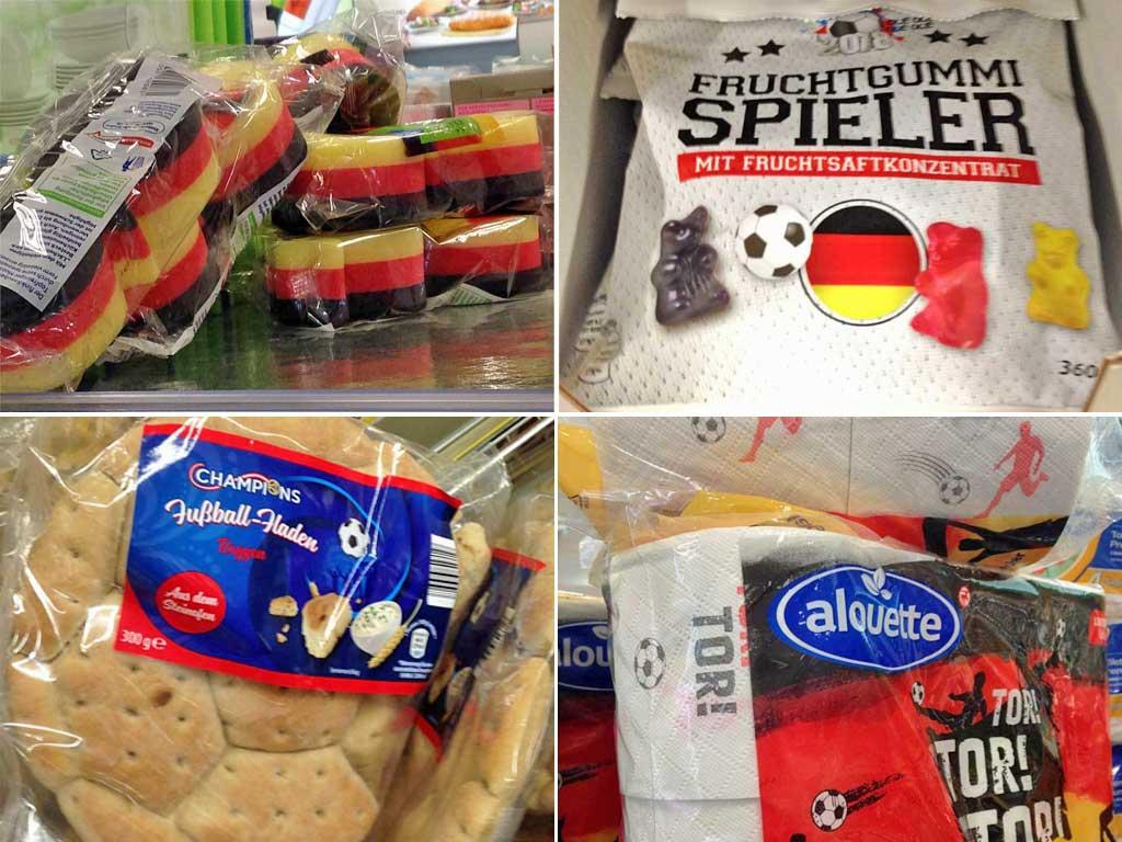 Produkte zur WM 2018 in Russland